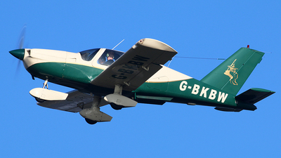 G-BKBW - Socata TB-10 Tobago - Merlin Airways