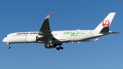 F-WZGE - Airbus A350-941 - Japan Airlines (JAL)