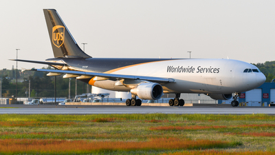 A picture of N161UP - Airbus A300F4622R - UPS - © United44life