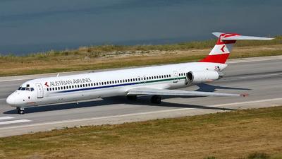 OE-LMB - McDonnell Douglas MD-83 - Austrian Airlines