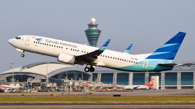 PK-GMX - Boeing 737-8U3 - Garuda Indonesia