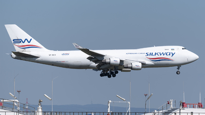 VP-BCV - Boeing 747-4H6F(SCD) - Silk Way West Airlines