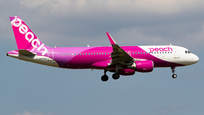 JA07VA - Airbus A320-214 - Peach Aviation