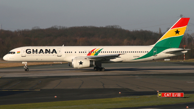 G-STRZ - Boeing 757-258 - Ghana International Airlines (Astraeus Airlines)