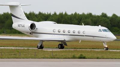 N671LE - Gulfstream G550 - Private