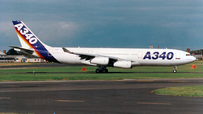 F-WWBA - Airbus A340-211 - Airbus Industrie