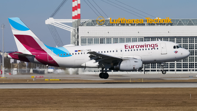 A picture of DAGWB - Airbus A319132 - Eurowings - © Lars Kämena