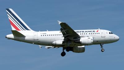 A picture of FGUGH - Airbus A318111 - Air France - © Sebastian Thiel