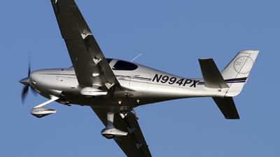 A picture of N994PX - Cirrus SR22T - [0080] - © Jeremy D. Dando
