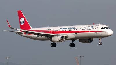 B-6968 - Airbus A321-231 - Sichuan Airlines