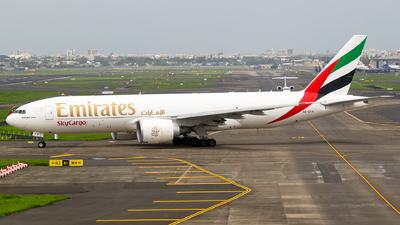 A picture of A6EFS - Boeing 777F1H - Emirates - © Aneesh Bapaye