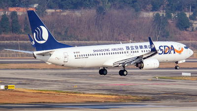 A picture of B5111 - Boeing 73785N - Shandong Airlines - © Predic. LXY!