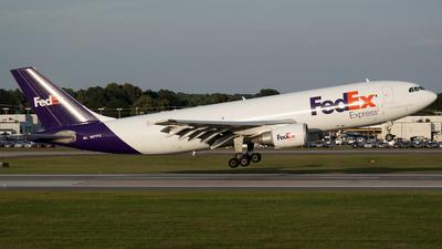 N677FE - Airbus A300F4-605R - FedEx