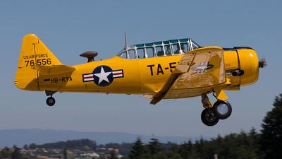 HB-RTA - North American AT-6 Harvard IIA - Private