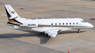 N329PK  - Gulfstream G200 - Private