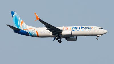 A picture of A6FGC - Boeing 7378KN - FlyDubai - © Hamza A. Mughal