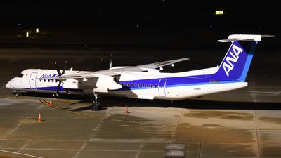 A picture of JA846A - De Havilland Canada Dash 8400 - All Nippon Airways - © HIroki Manabe