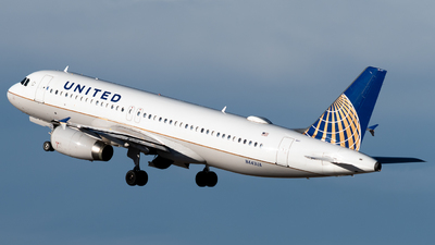 A picture of N443UA - Airbus A320232 - United Airlines - © Michael Place