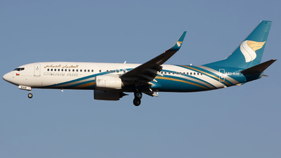 A picture of A4OBAB - Boeing 73781M - Oman Air - © Ernest Leung