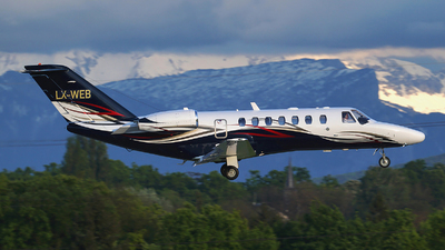 LX-WEB - Cessna 525B CitationJet 3 - Private
