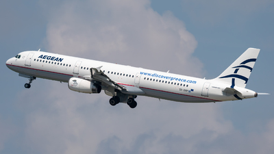 A picture of SXDVP - Airbus A321231 - Aegean Airlines - © Markus Schwab