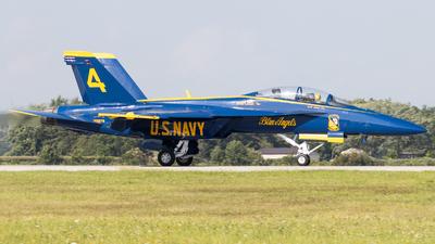 165679 - Boeing F/A-18F Super Hornet - United States - US Navy (USN)