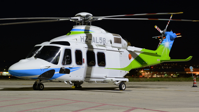 HZ-AL58 - Agusta-Westland AW-139 - Saudi Aramco Aviation