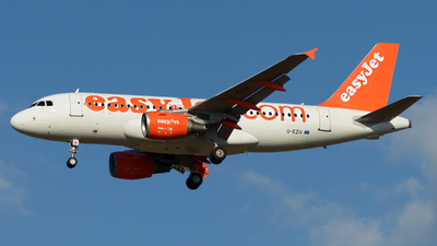 A picture of GEZIV - Airbus A319111 - easyJet - © Menyhért Bence