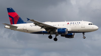 A picture of N337NB - Airbus A319114 - Delta Air Lines - © Positive Rate Photography