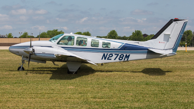 N278M - Beechcraft 58 Baron - Private