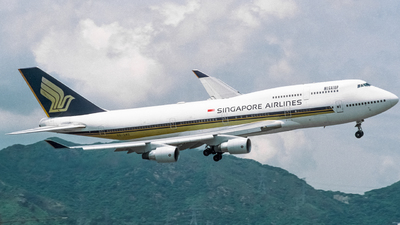 9V-SMO - Boeing 747-412 - Singapore Airlines