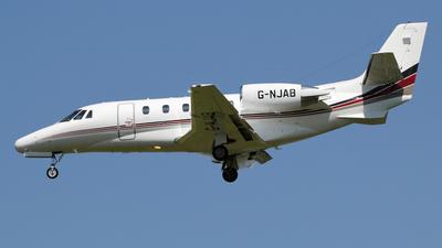 A picture of GNJAB - Cessna 560XL Citation XLS - Netjets UK - © Ian Howat
