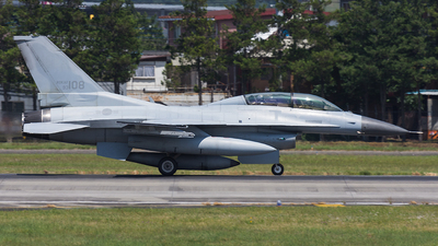93-108 - Lockheed Martin F-16D Fighting Falcon - South Korea - Air Force