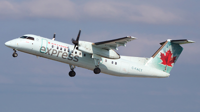 C-FACT - Bombardier Dash 8-311 - Air Canada Express (Jazz Aviation)