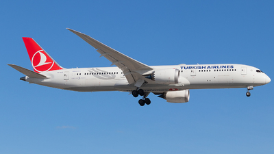 TC-LLE - Boeing 787-9 Dreamliner - Turkish Airlines