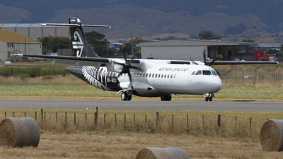 ZK-MZD - ATR 72-212A(600) - Air New Zealand