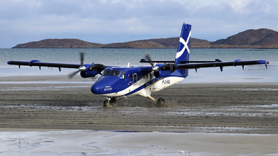 G-HIAL - Viking DHC-6-400 Twin Otter - Loganair