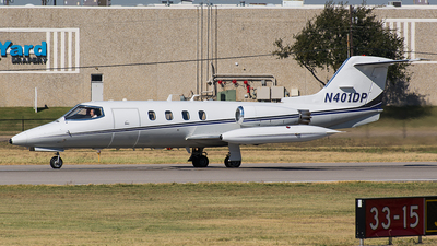 N401DP - Gates Learjet 25D - Private