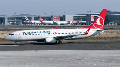 A picture of TCJVO - Boeing 7378F2 - Turkish Airlines - © Ömür Sadikoglu