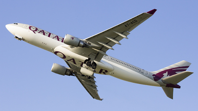 A7-ACD - Airbus A330-203 - Qatar Airways