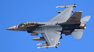 91-0463 - Lockheed Martin F-16D Fighting Falcon - United States - US Air Force (USAF)