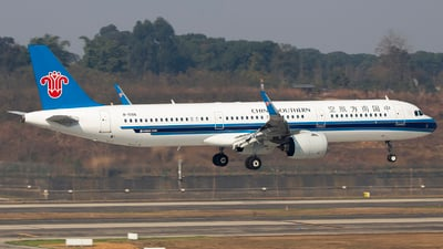 A picture of B1088 - Airbus A321271N - China Southern Airlines - © XieTM