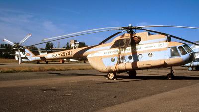 EX-25791 - Mil Mi-8T - Kyrgyzstan Airlines