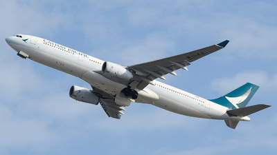 B-LAJ - Airbus A330-342 - Cathay Pacific Airways