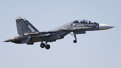 RF-93825 - Sukhoi Su-30SM - Russia - Air Force