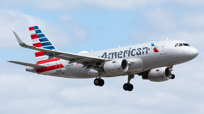 A picture of N9021H - Airbus A319115 - American Airlines - © Evan Dougherty