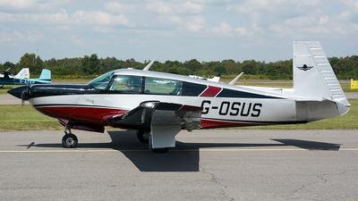 G-OSUS - Mooney M20K - Private