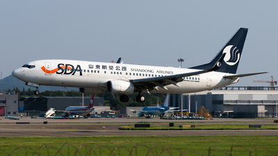 B-1443 - Boeing 737-85N - Shandong Airlines