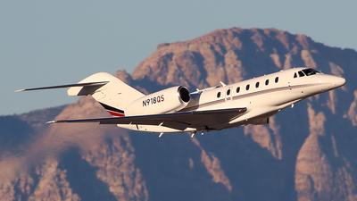 N918QS - Cessna 750 Citation X - NetJets Aviation