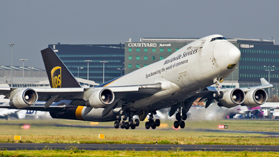 N582UP - Boeing 747-4R7F(SCD) - United Parcel Service (UPS)
